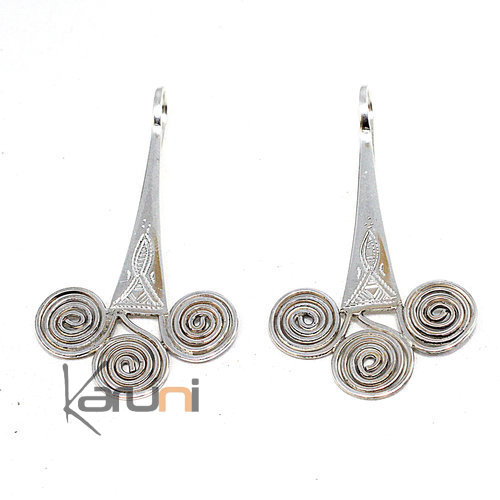 Triskell Sterling Silver Earrings