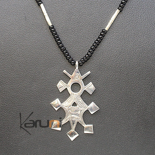 Ethnic Southern Cross Necklace Sterling Silver 7047