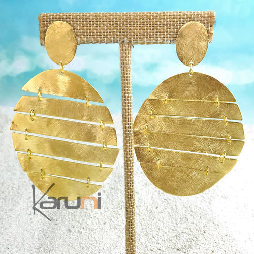 Gold Plated Sterling Silver Earrings 5099
