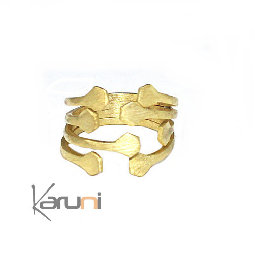 Gold Plated Sterling Silver Ring 1109