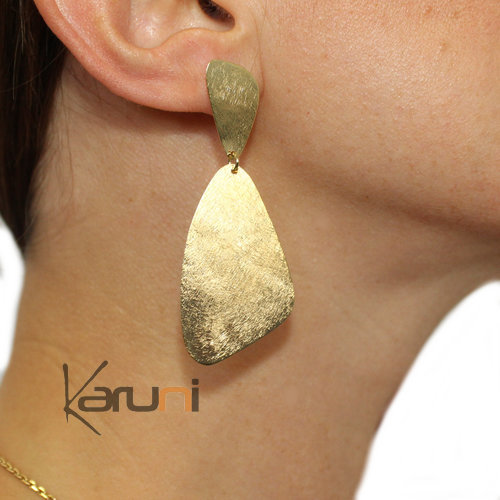 Gold Plated Sterling Silver Earrings 5106