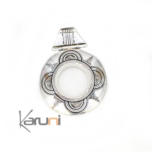 Sterling Silver Necklace Pendant 7052