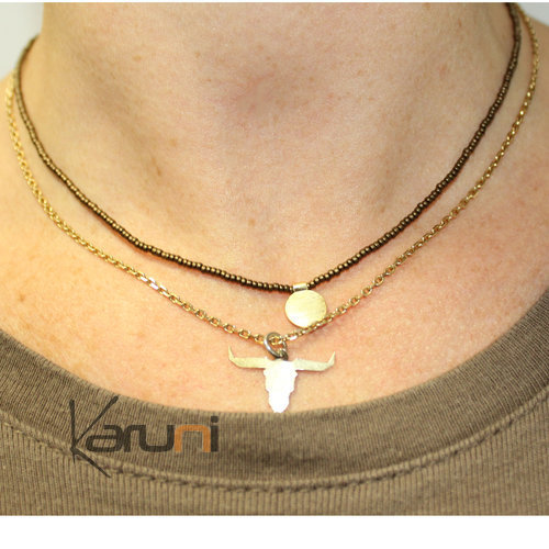 Gold Plated Necklace 7053
