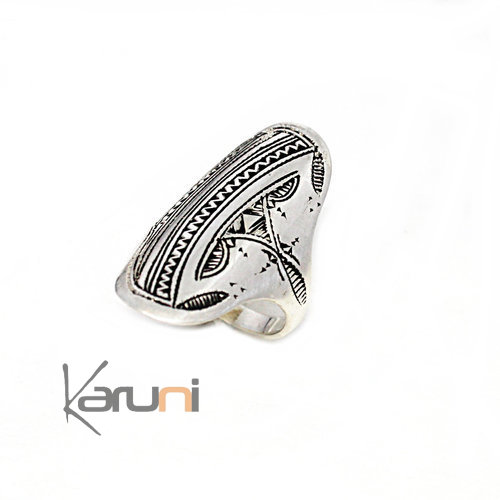 Sterling Silver Engraved Ring 1127