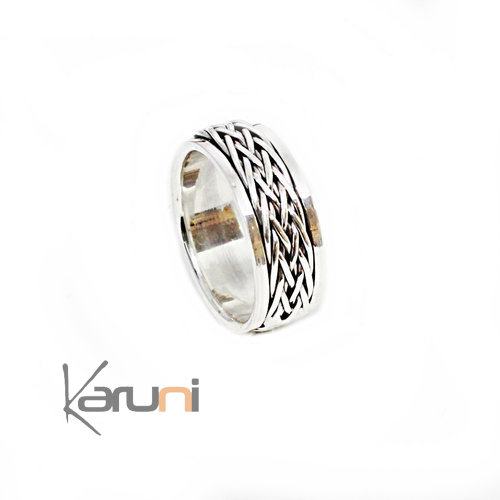 925 Sterling Silver Ring Anti Stress 1131