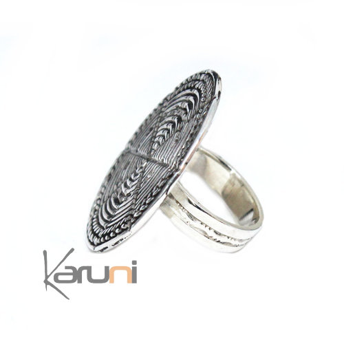 Exclusive sterling silver Ring Nepal 1152