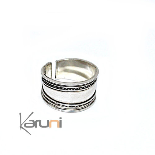 Adjustable Silver Ring 1154