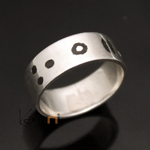 Ethnic  Jewelry Sterling Silver Tifinagh Women